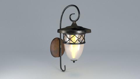 3D model  candlestick ornament