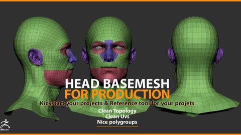 Head Basemesh for Production