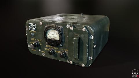 Soviet Vintage Geiger Counter