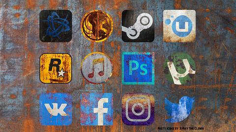 Rusty Icons