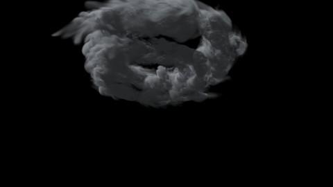 FumeFX Cloud Swirl Animation File 3ds Max