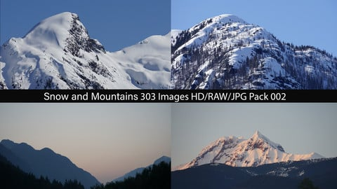 Snow and Mountains Pack 002