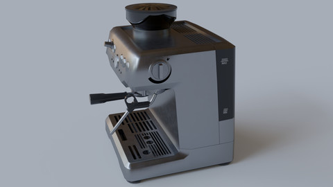 Coffee Machine - Low Poly