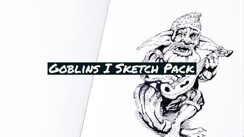 Digital Sketch Pack: Goblins 1