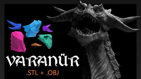 Varanür Dragon - 3D Printing Files