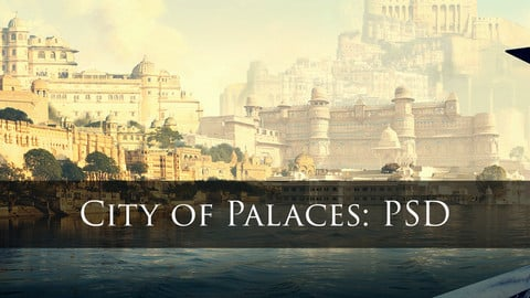City of Palaces: PSD+Hi Res Image