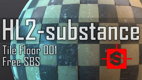 HL2-Substance / Tile Floor 001 SBS Free