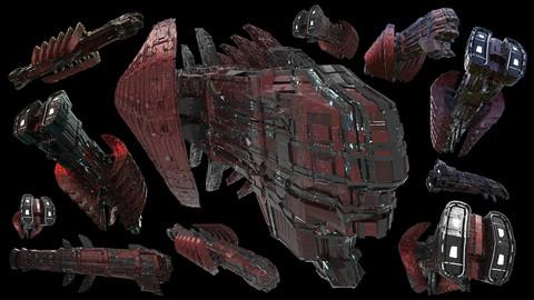 Spaceship Stock Image Pack 002