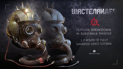Wastelander - Texture Breakdown in Substance Painter