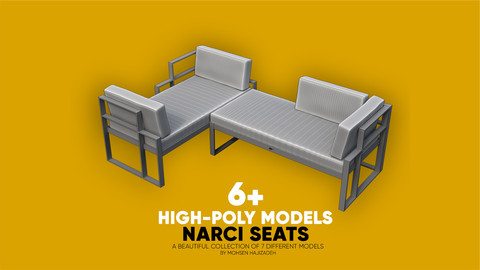 Narci Seats- a beautiful collection of 7 different models