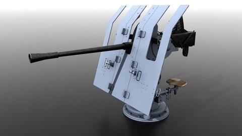 German 37mm FLAK 42