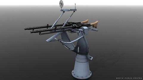 MG34 Zwillingsockel36