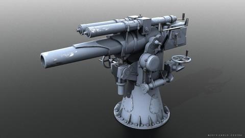 Howitzer 120-15 OTO 1933