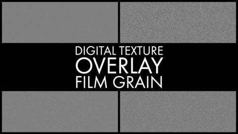 Digital Texture Overlay - Film Grain