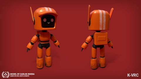 K-VRC Lowpoly | Love, Death & Robots