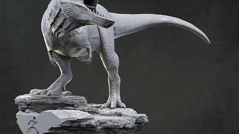 Tyrannosaurus Rex for 3D printing