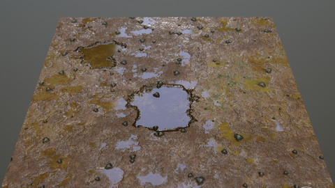soil texture PBR substance designer