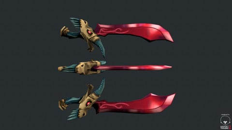 Stylized Dragon Sword