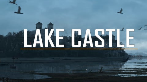 Matte Painting_Lake Castle