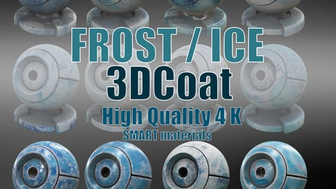 FROST/ICE Smart Materials Pack - 3DCoat