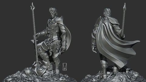 Medraut Unbound 3D Print