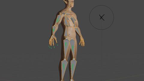 Character's bones (SK design)