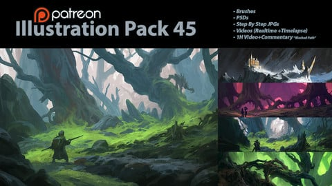 Illustration Pack 45 (not a stock asset)