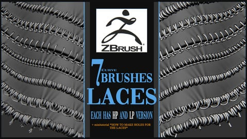 Laces brushes