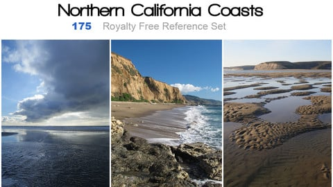 Northern California Coasts Reference Pack