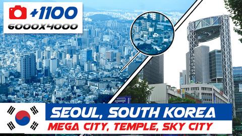Seoul, South Korea: mega city - Temple - Sky city