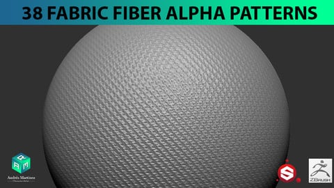 38 Fabric Fiber Alpha Patterns