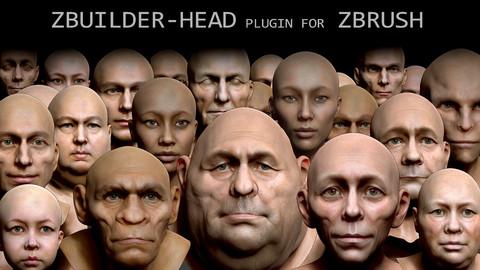 Human Zbuilder - Head