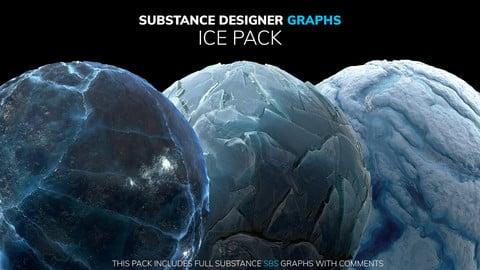 Substance Designer Graphs | Ice Pack