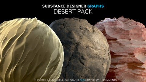 Substance Designer Graphs   Desert Pack
