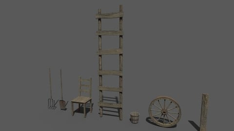 Old Farm Objects