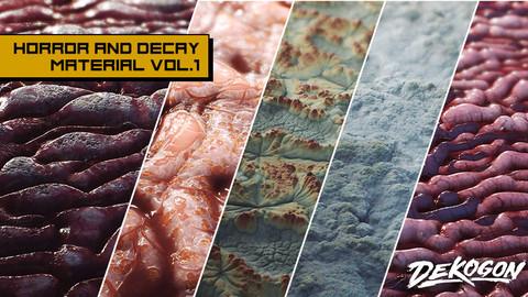 Horror and Decay VOL.1 - Organics (UE4+RAW)
