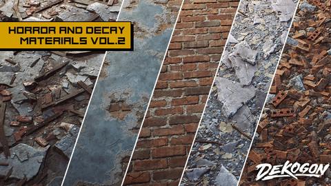 Horror and Decay VOL.2 - Urban Debris (UE4+RAW)