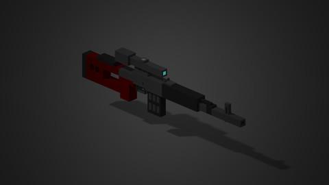 Dragunov sniper rifle
