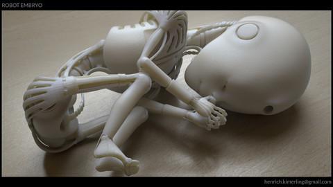 Robot Embryo_3D Print model