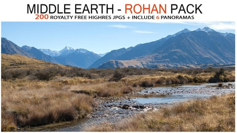 MIDDLE EARTH - ROHAN PACK