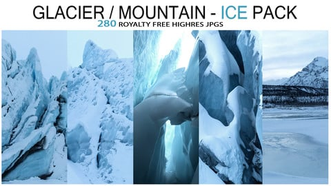 GLACIER / MOUNTAIN - ICE Pack