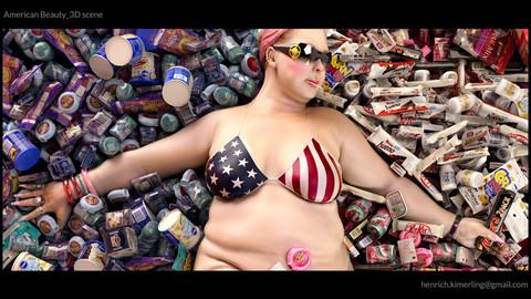 American Beauty_3D scene