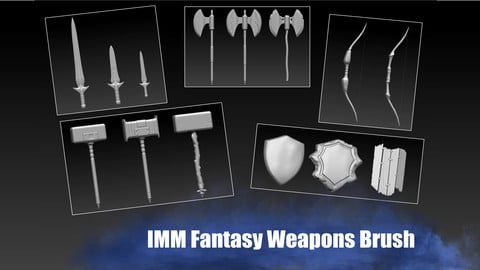 IMM Fantasy Weapons Brush