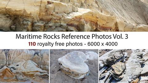 Maritime Rocks Reference Photos Vol.3