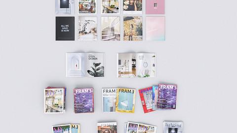 Design Magazines for Arch Viz (Assets)