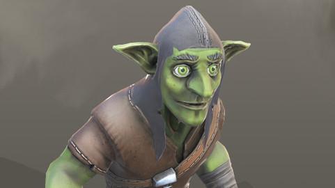 Goblin Game Ready Model