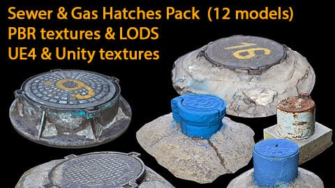Sewer and Gas Hatches Pack