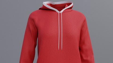Sweatshirt hoodie 3D Model