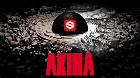 AKIRA in Substance Designer