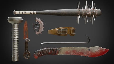 Post-Apocalyptic weapons